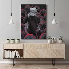 jujutsu kaisen satoru gojo anime leinwand malerei decor wand kunst bilder schlafzimmer studie hause wohnzimmer dekoration drucke poster