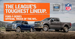 Ford F-Series Named Official Truck Of The NFL | The News Wheel Photos The Baddest Ford Fseries Trucks Of Sema 2017 Allnew F150 Police Responder Truck First Pursuit 1987 Press Photo Bronco Range F Series Historic Images How The Remains Relevant After So Many Years Evolution Autotraderca 6 Uncommon Arguments For Buying A Truck Fordtrucks Super Duty Brings 13 Billion Investment To Stx Returns My Now Available On Fseries Indepth Model Review Car And Driver Media Center Advanced Eeering