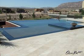 100 Infinity Swimming No Edge Infinity Swimming Pool View Ozzie Kraft Pools