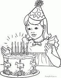 Free Printable Happy Birthday Coloring Pages Az Regarding
