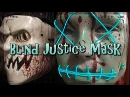 Purge Anarchy Mask For Halloween by Blind Justice Mask Spirit Halloween 2016 Youtube