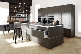 portland moderne zement küchenfront nolte kuechen
