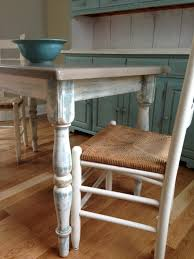 upcycled shabby chic dining room table chairs and hutch annie