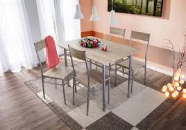 details zu trendstabil esstischgruppe 5 tlg essgruppe esstisch küchentisch 4 stühle sonoma