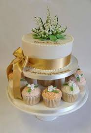 50Th Wedding Anniversary Cake See More Vintage Style Cup Cakes