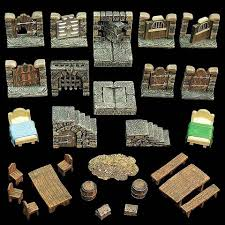 3d Dungeon Tiles Dwarven Forge by Dungeon Dressing Pack Expertly Hand Painted Dwarven Forge