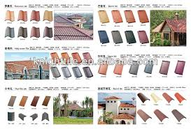 mixing roofing colored clay roof tile style tiles shingles