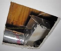 Do Duct Free Bathroom Fans Work by How To Replace A Bathroom Exhaust Fan And Ductwork