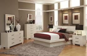 Queen 5 Piece Bedroom Set White