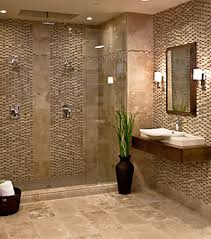 bathroom floor and shower tile combinations homes design