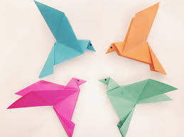 Bird Origami How To Make A Paper Easy Youtube Template