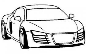 Audi R4 Car Coloring Pages Printable