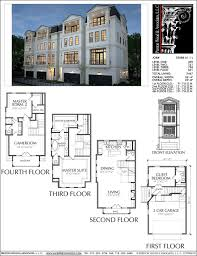 100 Townhouse Design Plans Plan E2088 A11 In 2018 Diy And Home Pinterest