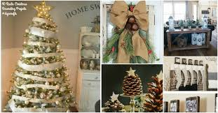 40 Rustic Christmas Decor Ideas You Can Build Yourself DIY & Crafts
