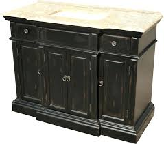 48 Inch Black Bathroom Vanity Without Top by 48 Inch White Bathroom Vanity Without Top With Black