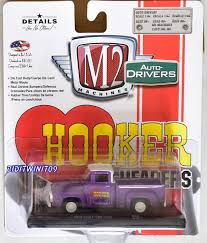 M2 MACHINES AUTO-DRIVERS HOOKER HEADERS 1956 FORD F-100 TRUCK R52 ...
