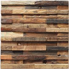 Decorative Rustic Accent Wall Decor Idea Reclaimed Best Wood