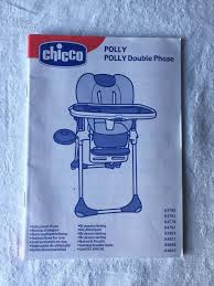 Chicco Polly Double Phase High Chair For Sale Online | EBay Chicco High Chair Itructions Amazoncom Quickseat Hookon Graphite Baby S Sizg Polly Magic Highchair Seat Cover Green Caddy Hook On Papyrus Chicco High Chair Cover Ucuzbiletclub Peg Perego Prima Pappa Zero 3 Youtube 2 In 1 Adjustable Highchair With Itructions Great Eletta Comfort Pocket Lunch Jade Portable Teds Lobster Clip