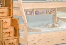 Trendwood Bunk Beds by Trendwood 4720 Bunkhouse High Sierra Twin Full Bunkbed Set