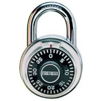 Master Lock Fortress Made Combination Padlock