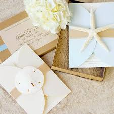 Beach Theme Wedding Invitation Kits Ideas Themed