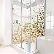 wasserfeste duschrückwand als wandverkleidung 100 x 200 cm