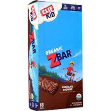 Clif Bar Z For Kids Chocolate Brownie 18 Bars