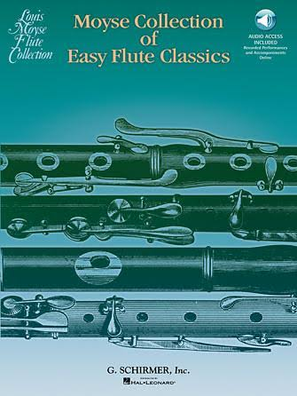 Hal Leonard Moyse Collection of Easy Flute Classics Flute Music Sheet