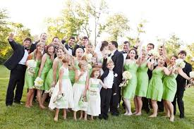 Bridesmaids And Groomsmen Emerald Green May Be 2013s Color Of The Year But We