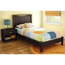 twin platform bed with headboard and south shore soho multiple
