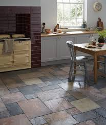 Breathtaking Natural Floor Tiles 42 L040479 Slate Sheera Modular Tile 2 Living Room