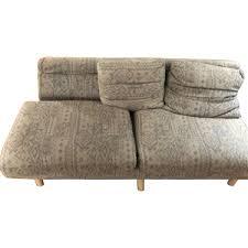 100 Roche Bobois Sofa Bed Vintage Grey