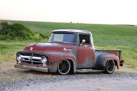 1956 Ford F-100 That Looks Like A Rundown Old Pickup Truck, But Isn ...