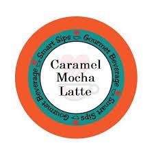 Smart Sips Coffee Flavored Keurig Kcup Caramel Mocha Latte