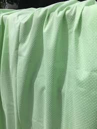 Dotted Swiss Curtains White by Dotted Swiss Fabric Vintage Light Green White Dots Doll Clothes