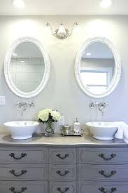 vanities details about chunky rustic painted bathroom sink