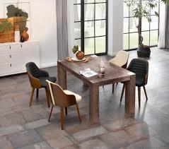 home affaire esstisch maggie aus massivem akazienholz in drei verschiedene tischbreiten und zwei unterschiedlichen beinstärken kaufen