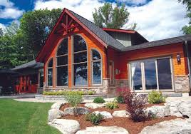 The Waterfront House Designs by House Plans Shoreline Linwood Custom Homes