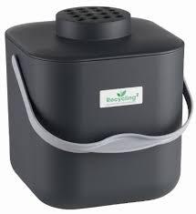 poubelle compost pour cuisine seau a compost recycling stockli amazon fr cuisine maison