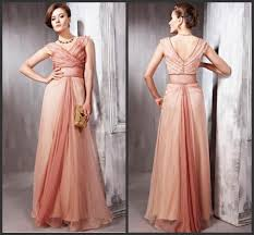 new disigner v neck prom dresses chiffon 2016 formal gowns