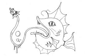 Cartoon Monsters Coloring Pages Cartoons Color 439458 For Free 2015