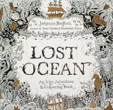 Secret Garden Series Lost Ocean ENGLISH Coloring Book Childrens Books 1807