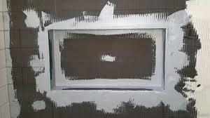building a completely custom shower niche from scratch diytileguy