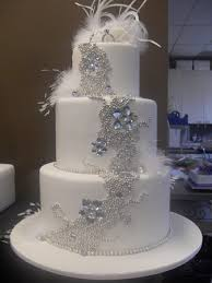 Wedding Cakes With Bling Good Inspiration B93