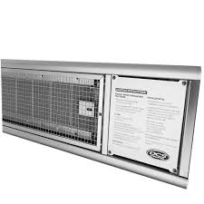 Lynx Eave Mounted Patio Heater by Dcs 48 Inch 56 000 Btu Natural Gas Infrared Patio Heater