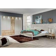 schlafzimmer set in creme weiß eiche mit doppelbett 4