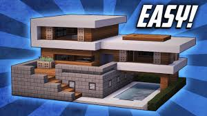 100 Modernhouse Minecraft How To Build A Large Modern House Tutorial 19 YouTube