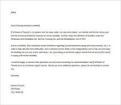 Emotional Support Animal Letter Housing