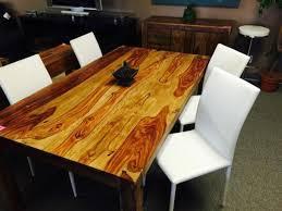 table cuisine bois exotique table de cuisine bois exotique massif neuve dining tables sets