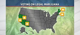 states pot is 5 states to vote on recreational marijuana political news 13